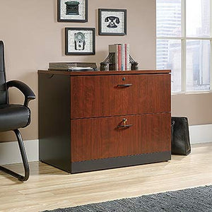 Sauder 419606 Via Lateral File, Classic Cherry Finish