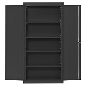 Buddy Products Cabinet, Welded Storage Cabinet, Black (CA41361872-09BP)