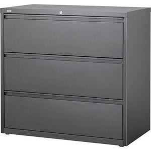 Lorell Hanging File Drawer Lateral, Gray