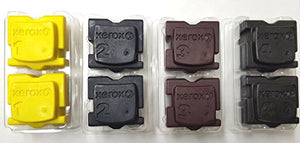 Genuine Xerox 8570 8580 Solid Ink 2 pcs Each per Color (8 pcs/Pack)
