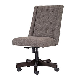 Ashley Furniture Signature Design - Adjustable Swivel Office Chair - Manual Tilt - Casual - Graphite
