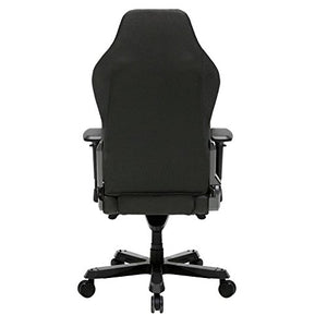 DXRacer OH/IS132/N Iron Series Black Gaming Chair - Includes 2 free cushions and Lifetime warranty on frame
