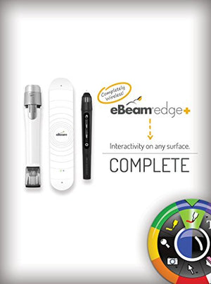 eBeam Edge + Wireless Complete - 4 Markers and Charging Cradle