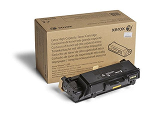 Genuine Xerox Black Extra High Capacity Toner Cartridge (106R03624) - 15,000 Pages for use in Phaser 3330, WorkCentre 3335/3345