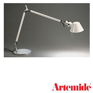Artemide Tolomeo Table Lamp White E27 77W Base 23 cm A004420
