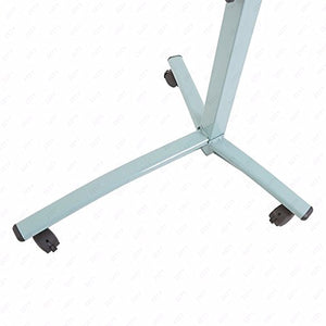 Generic e Stan Stand Overbed Table Desk Tilting Desk Tilting Food Tray Hospital esk Tilting Table Rolling Laptop Table Tabletop TV Tabletop TV