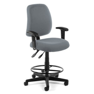 OFM 118-2-AA-DK-801 Posture Series Task Chair with Arms and Drafting Kit