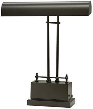 House of Troy BPLED200-81 Battery Operated LED Piano/Desk Lamp, Mahogany Bronze