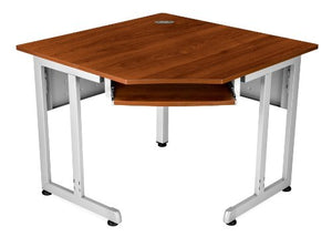 "OFM 55244-MPL Corner Table, 5-Sided, 30"" x 30"""