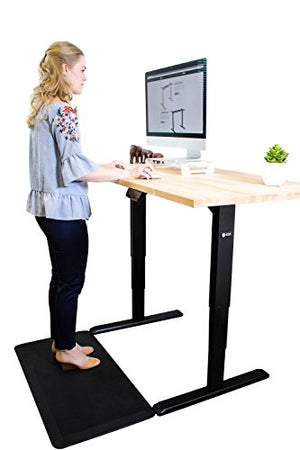 Star Ergonomics SE06E1FB Electric Sit-Stand Desk Frame, 3-Stage Reverse Dual Motor w/Smart Memory keypad, Adjustable Height sit-Stand Desk [Table Top Not Included]