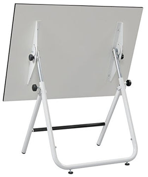 Alvin EZ42-4 EZ Fold Table White 30 inchesx 42 inches