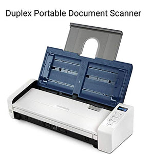 Xerox Duplex Portable Document Scanner, Xerox Duplex Portable Scanner, Blue & White
