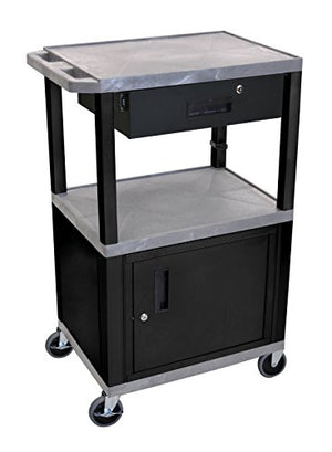 Tuffy Mobile Multi-Purpose Cart w Drawer in Gray