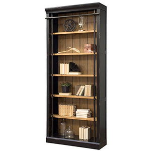 Martin Furniture IMTE4094 Fully Assembled Aged Ebony Toulouse Bookcase,