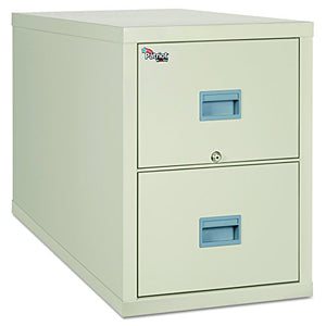FireKing 2P2131CPA Patriot Insulated Two-Drawer Fire File, 20-3/4w x 31-5/8d x 27-3/4h, Parchment