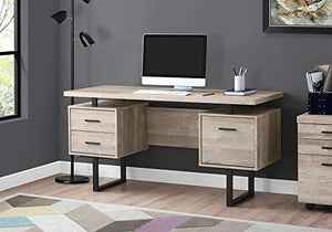 Monarch Specialties I I 7418 Computer Desk, Taupe