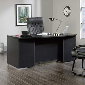 Sauder 419773 Via Executive Desk, Bourbon Oak Finish