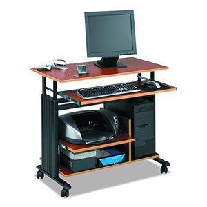 Safco Products 1927CY Muv Mini Tower Desk, Cherry