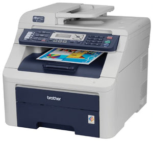 Brother MFC-9120CN Digital Color All-in-One Printer with Fax and Networking
