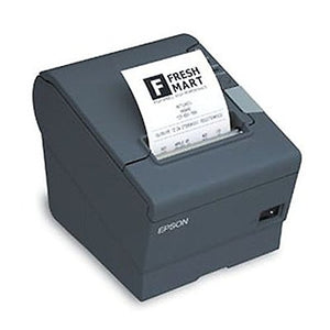 Epson C31CA85779 TM-T88V Thermal Receipt Printer OmniLink T88V-I Intelligent Printer 80mm Power Supply US Cable Dark Gray