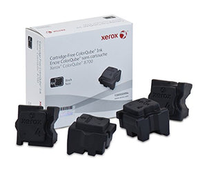 Genuine Xerox Black Solid Ink Sticks for the Xerox ColorQube 8700 (4 pcs/Box), 108R00994