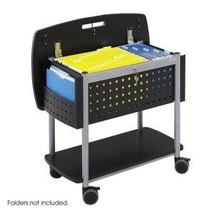 SAF5370BL - Safco Scoot Mobile File Cart