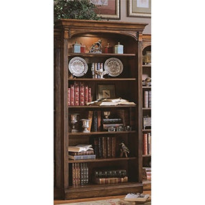 Hooker Furniture Brookhaven Open Bookcase in Cherry