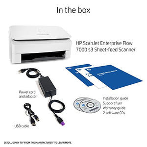 HP ScanJet Enterprise Flow 7000 s3 Sheet-feed OCR Scanner