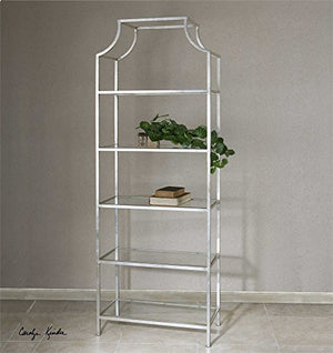Vhomes Lights Silver Etagere The Aurelie Collection bookcases