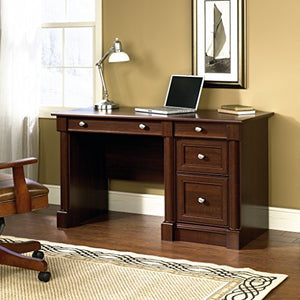 "Sauder 412116 Palladia Computer Desk, L: 53.15"" x W: 23.47"" x H; 30.04"", Select Cherry finish"