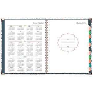 "AT-A-GLANCE Academic Weekly / Monthly Planner, July 2018 - June 2019, 8-1/2"" x 11"", Hardcover, Badge Tile (6124T-905A)"