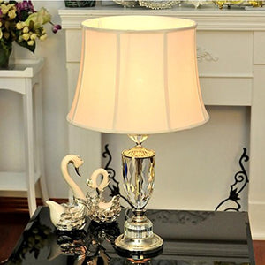 505 HZB European Crystal Lamp Bedroom Living Room Lamp Bedside Lamp Creative Study