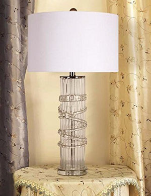 CJSHVR-Lamp American Rural Idyll Villa Modern Minimalist Luxury Bedroom Living Room Decorated with Glass Lamps Sect. B