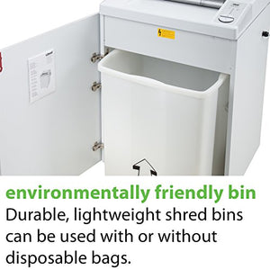 ideal.4002 Strip Cut Paper Shredder, P-2 Security Level, Designed for 10-15 Users, Shreds 32-35 Sheets at a Time