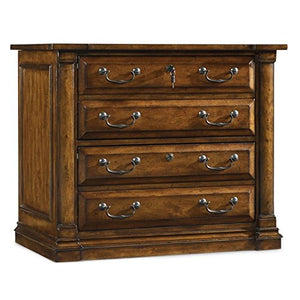 Hooker Furniture Tynecastle 2 Drawer Lateral File in Medium Wood