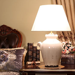 505 HZB American Rural Ceramics, Copper Lamp, Living Room, Study, Villa, Lamps And Lanterns.