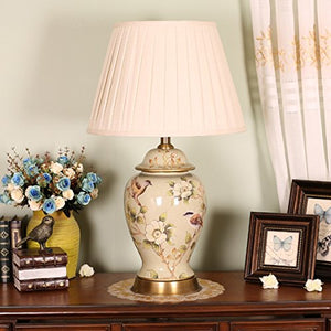 505 HZB Chinese Ceramic Lamps, Villas, Bedroom Bedside Lamps, Living Room Reading Lamps