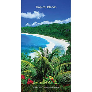 2019 Islands Tropical Pocket Planner, Beaches by BrownTrout