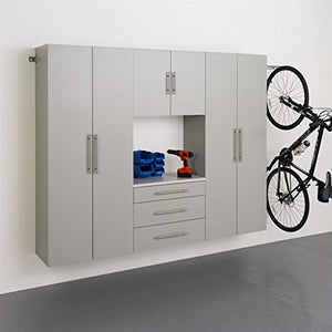 4-Pc Contemporary Storage Cabinet Set