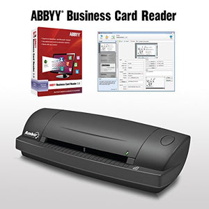 ImageScan Pro 687 w/ABBYY Business Card Reader Software