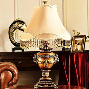 505 HZB European Creative Living Room Hotel Lobby Lamp (Size : M4985cm)
