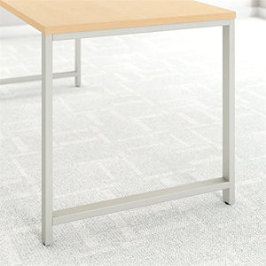 Bush Business Furniture 400 Series 72W x 24D Table Desk in Natural Maple
