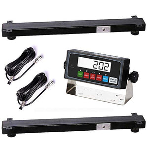 PEC Weigh Bars Beams Load BAR Scale Livestock Scale Kit Vet Animal Scales for Weighing Cattle Cow Pig Goat Hog Horse Llama Alpaca (24″)