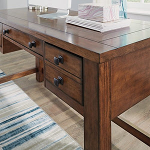 Tahoe Aged Maple Executive Writing Desk by Home Styles