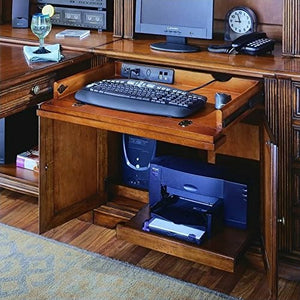 "Hooker Furniture Brookhaven 32"" Computer Desk in Clear Cherry"