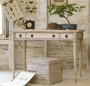 Hooker Furniture 638-50004 Melange Sofia Writing Desk, Whites/Cream/Beiges