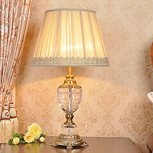 505 HZB American Crystal Crystal Lamp, Bedroom, Bedside Lamp, Living Room, Study Room, Lamps And Lanterns.
