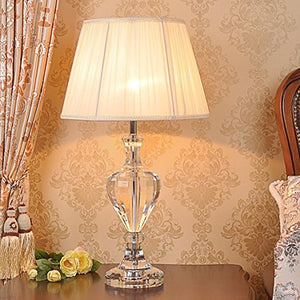 505 HZB Crystal Lamp, Bedroom Bedside Lamp, American Living Room, Study Room Lamps And Lanterns (Size : L4070cm)