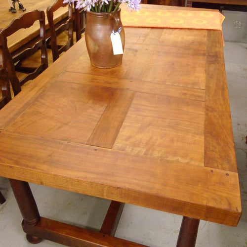 Large Vintage French Dining Table