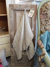 Pure linen hand towels